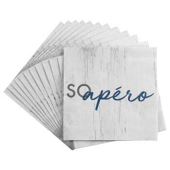 Set of 20 So Apéro Table Napkins