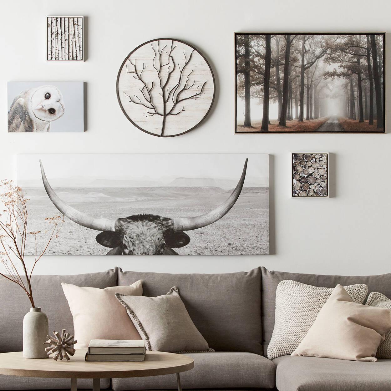 Round Metal Tree Wall Art | Bouclair.com