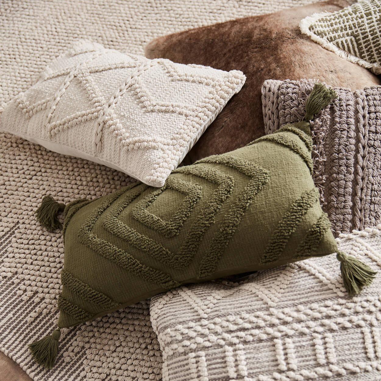"""Azmin Decorative Lumbar Pillow 12"""" x 22"""""""