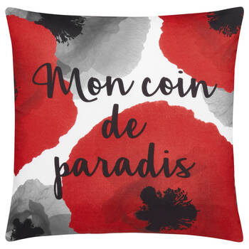"Paradis Water-Repellent Decorative Pillow 18"" X 18"""