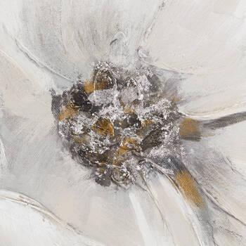 Tableau floral imprimé avec embellissements au gel