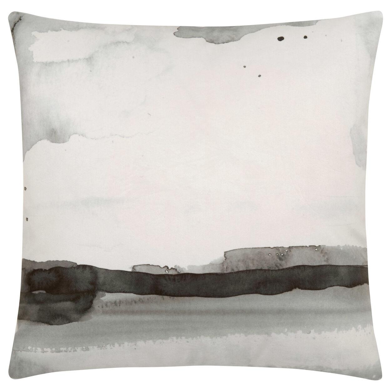 """Cynthia Dulude - Coussin décoratif aquarelle 19"""" x 19"""""""