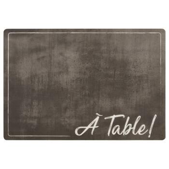 Set of 4 À Table PVC Placemats