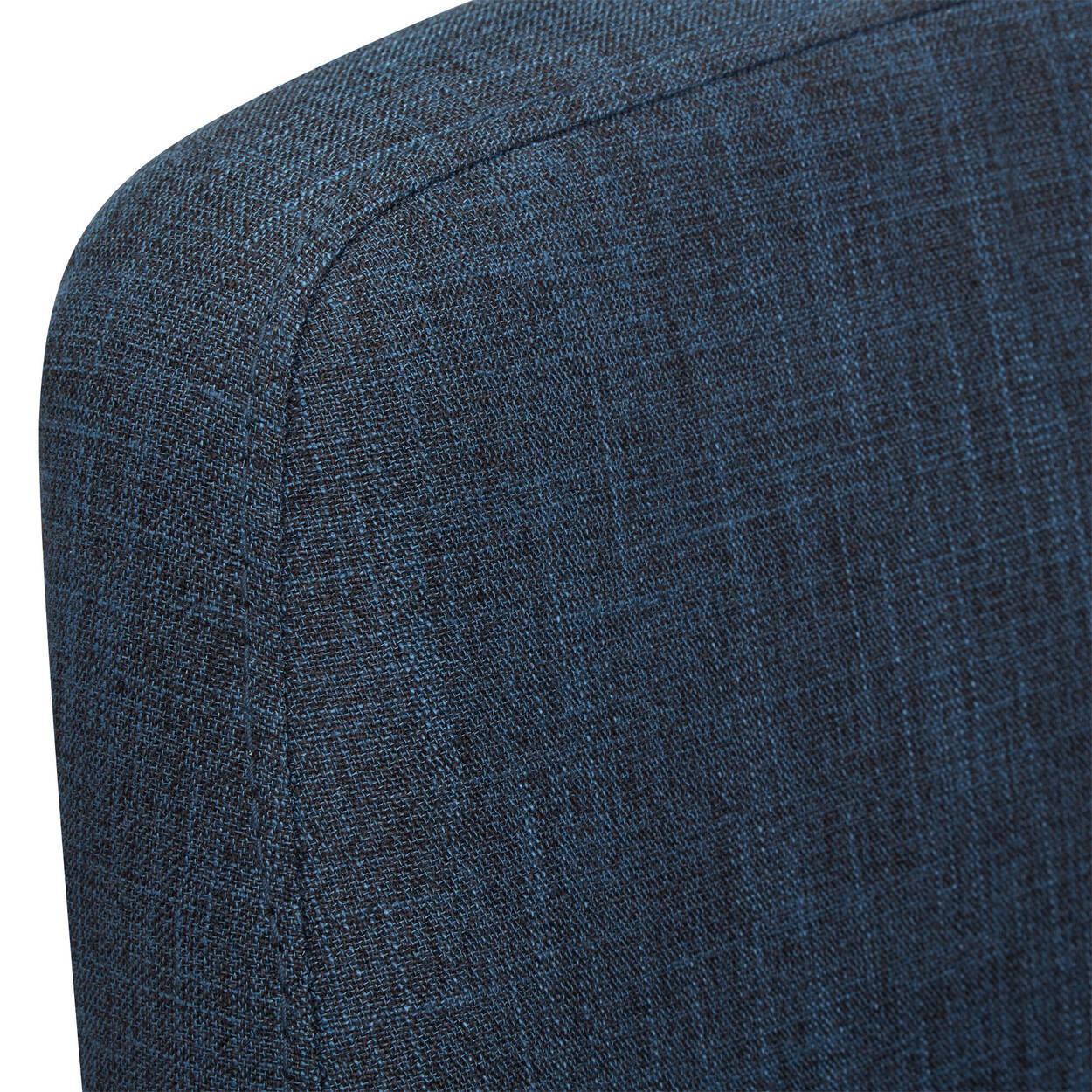 Chita Fabric and Metal Adjustable Stool