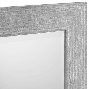 Textured Framed Mirror