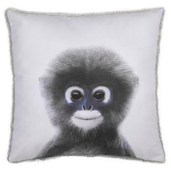 "Baby Monkey Decorative Pillow 15"" x 15"""