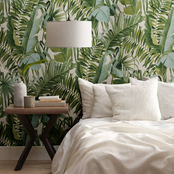 Tropical Leaves Wallpaper - Double roll