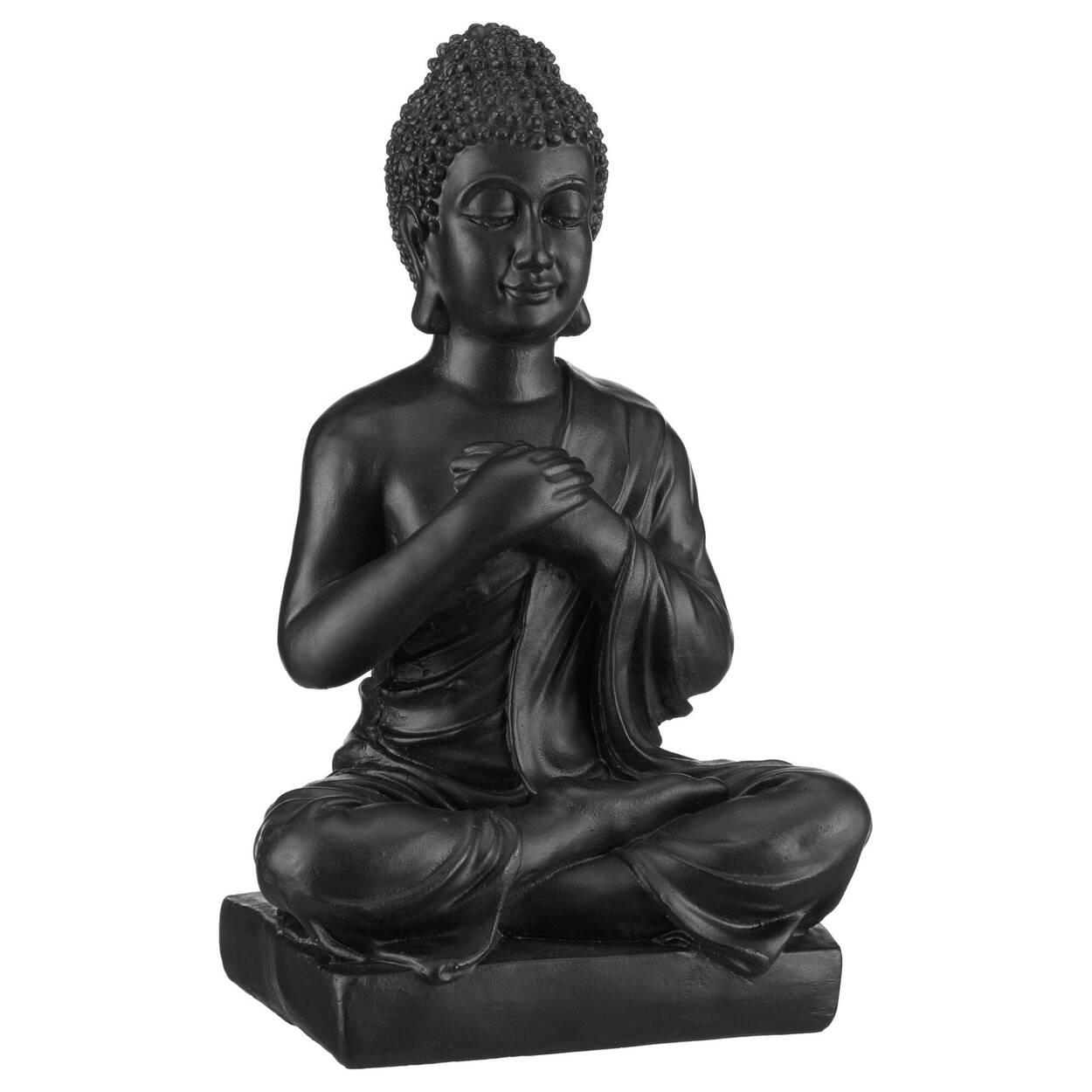 Statue de Bouddha noire