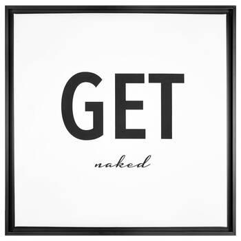Get Naked Framed Art