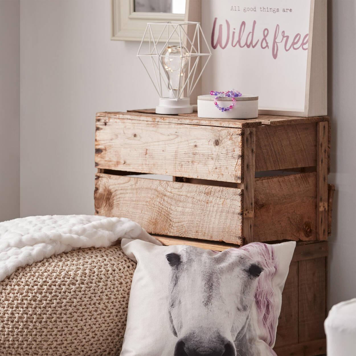 Shelf with Typography