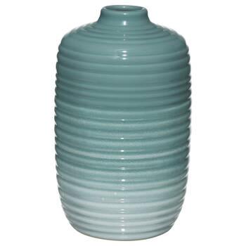 Ribbed Ceramic Table Vase