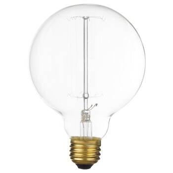 Ampoule globe antique Edison