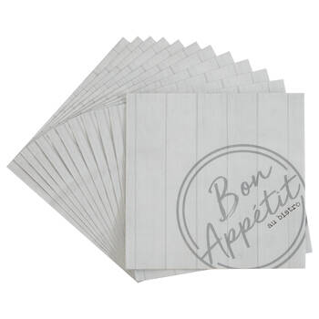 Pack of 20 Bistro Paper Napkins