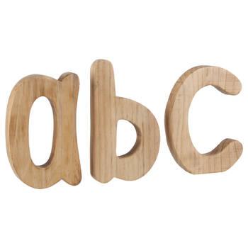 A, B, C Decorative Wooden Letters
