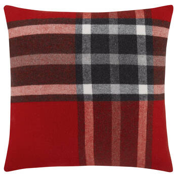 "Ajorn Plaid Decorative Pillow 20"" X 20"""