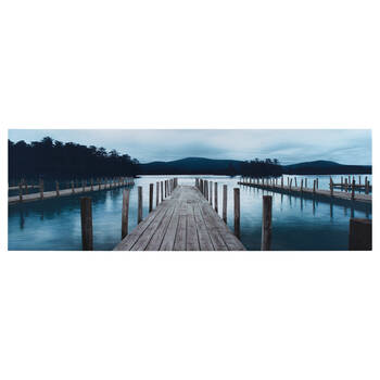 Dock Printed Canvas