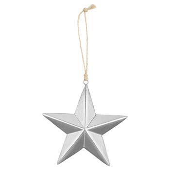 Set of 3 Star Ornaments