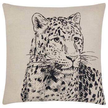 """Leopard Decorative Pillow Cover 18"""" X 18"""""""