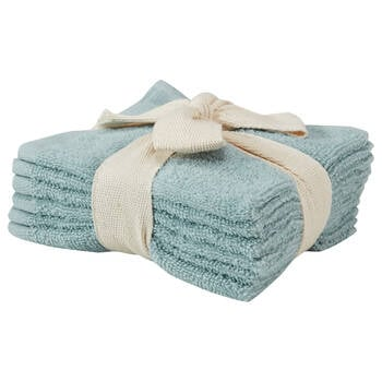 Set of 6 Large Washcloths