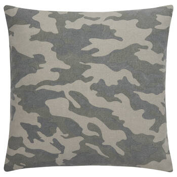 "Camouflage Decorative Pillow 19"" x 19"""