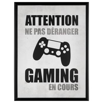 Gaming en Cours Framed Art