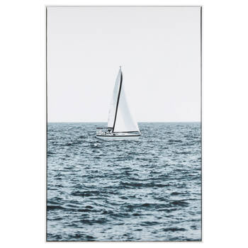 Quiet Sailing Framed Art