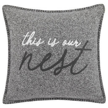 "Nest Decorative Pillow 19"" X 19"""