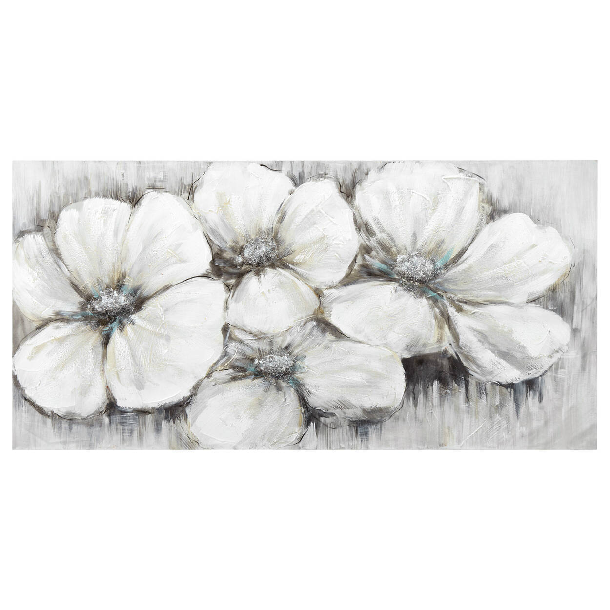Floral Oil Painting Canvas