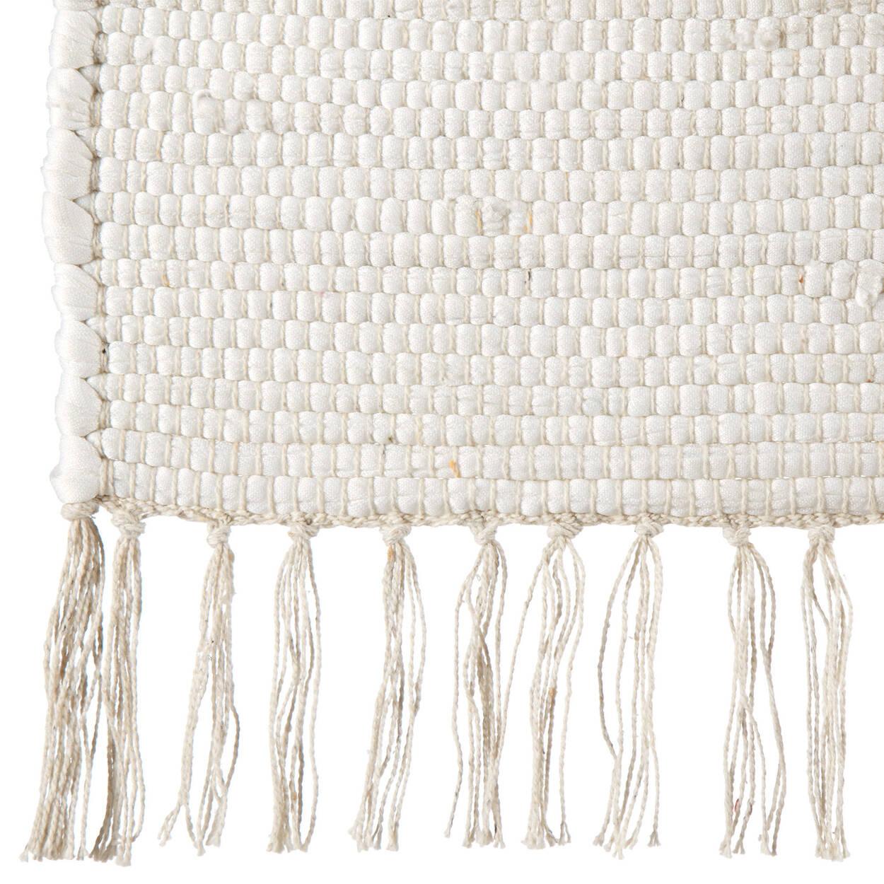 Tapis Vanil avec franges