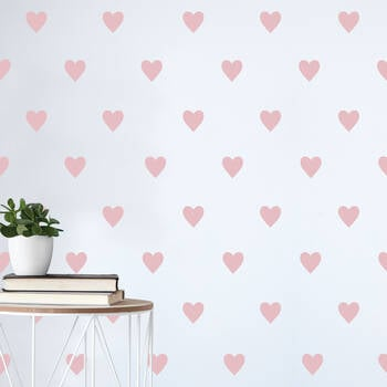Heart Pattern Wall Sticker