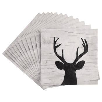 Pack of 20 Deer Paper Napkins