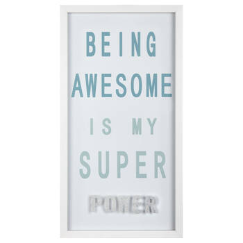 Be Awesome Framed Art