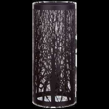 Lampe de table en métal noir