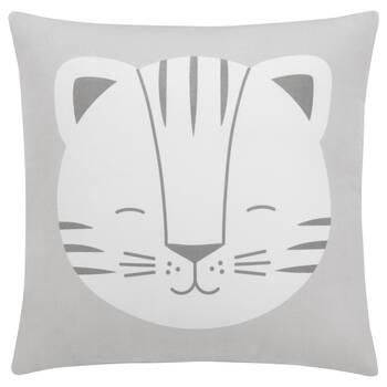 "Baby Tiger Decorative Pillow 15"" X 15"""