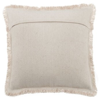 "Kelsi Decorative Pillow with Fringe 19"" X 19"""