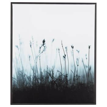 Cadre imprimé fleurs