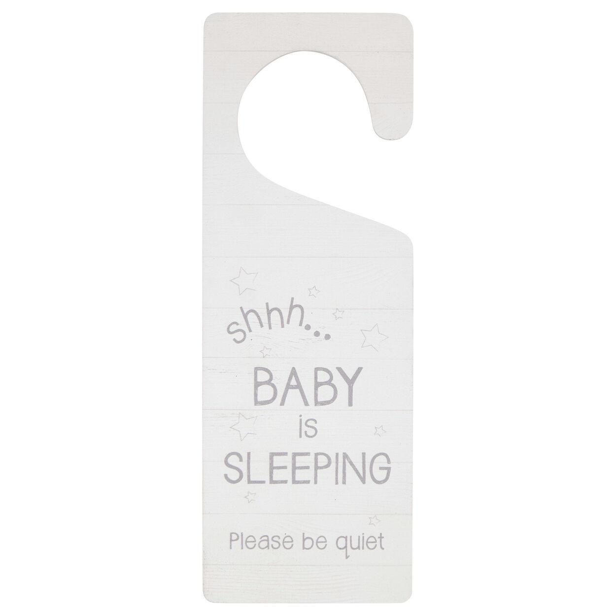 Baby Is Sleeping Door Hanger