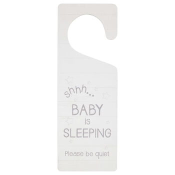Baby Is Sleeping Door Hanger
