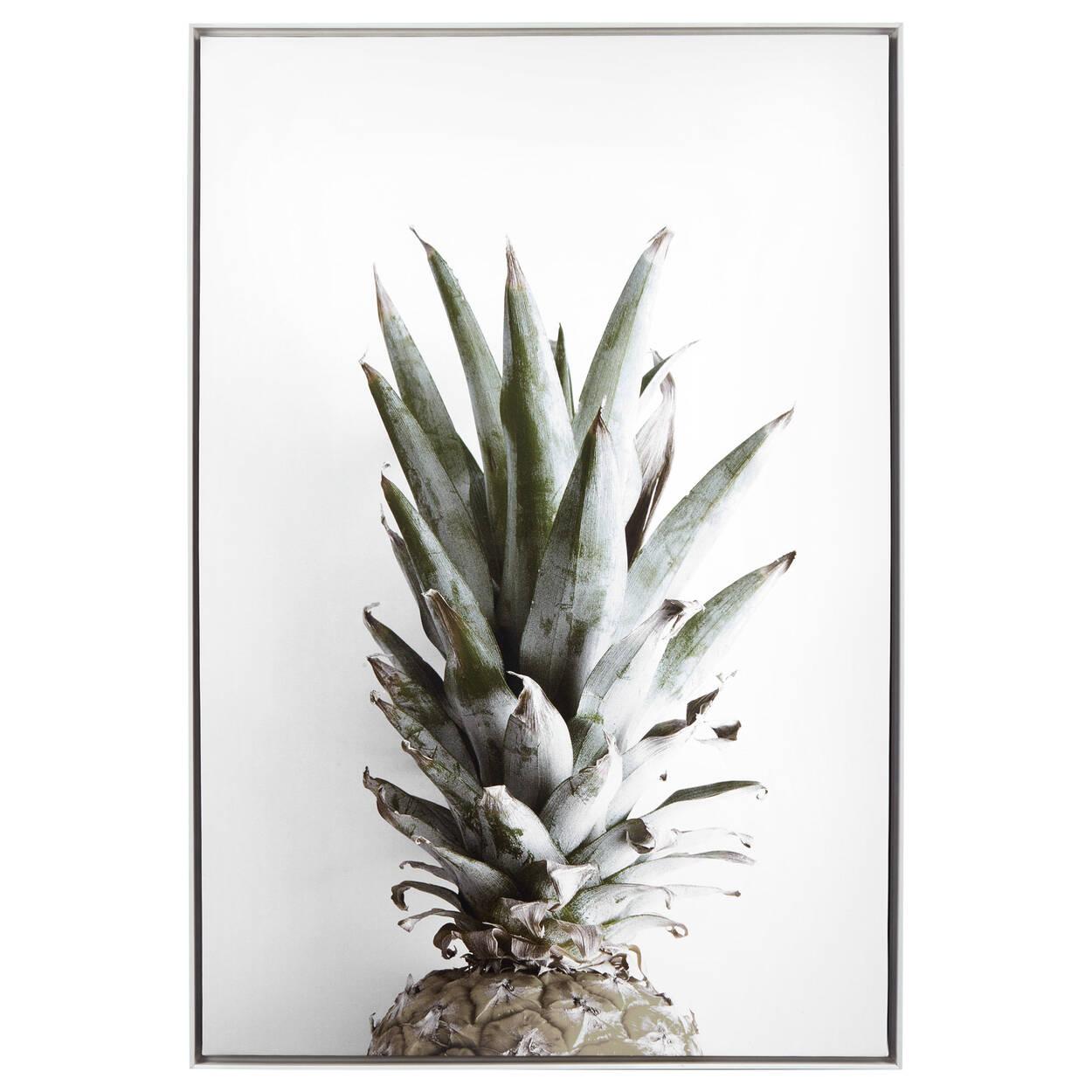 Pineapple Printed Framed Art