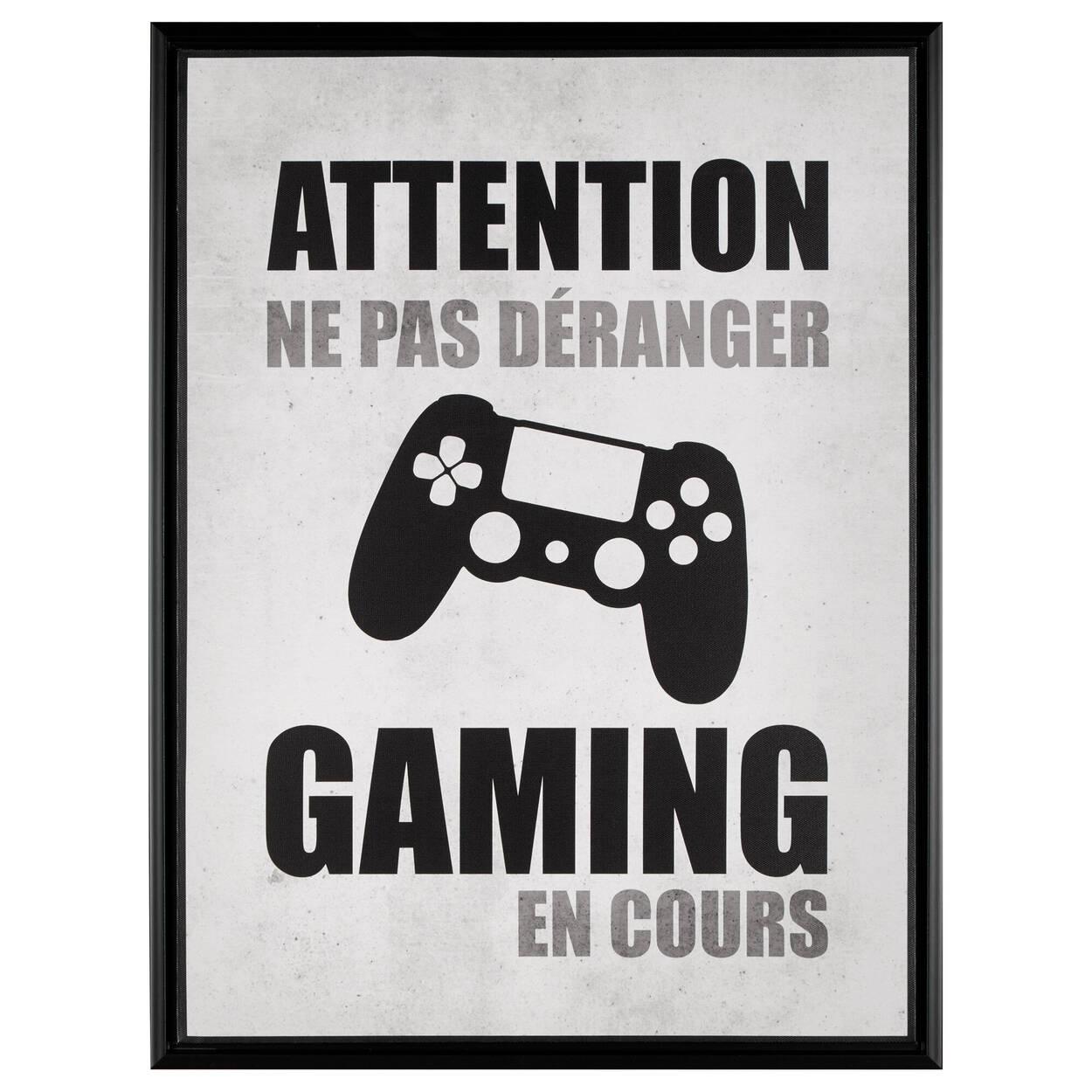 Cadre imprimé Gaming en cours