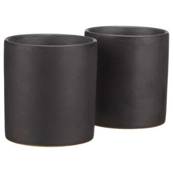 Set of 2 Porcelain Tea Cups