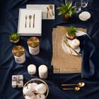 Sword Grass in Two-Toned Ceramic Pot