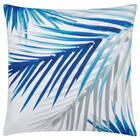 "Palm Water-Repellent Decorative Pillow 18"" X 18"""