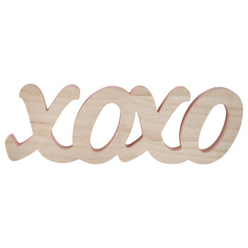 Decorative Letters XOXO