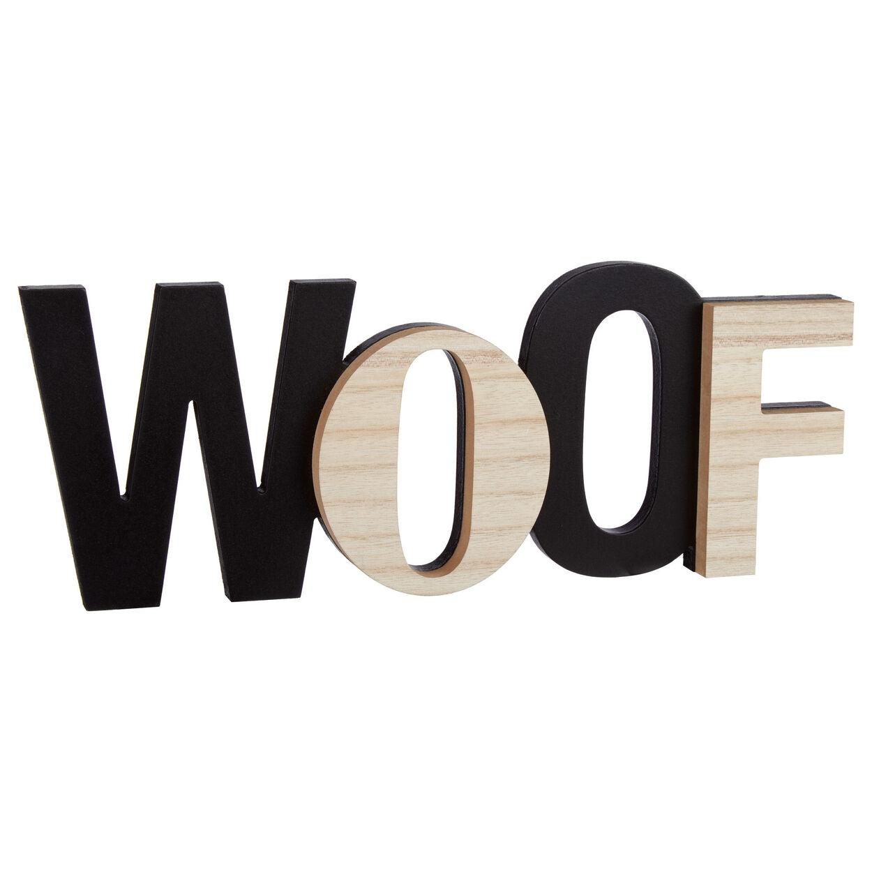 Decorative Word Woof