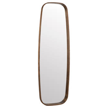 Wood-Framed Ellipsoid Mirror