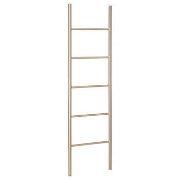 Gold Metal Ladder Towel Holder