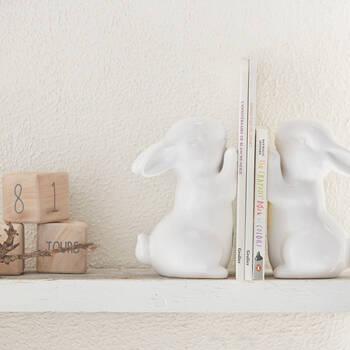 Serre-livres lapins