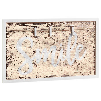 Sequined Memo Board