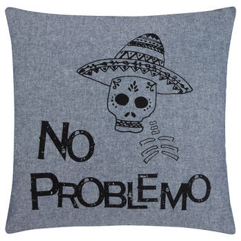 "No Problemo Decorative Pillow 18"" X 18"""